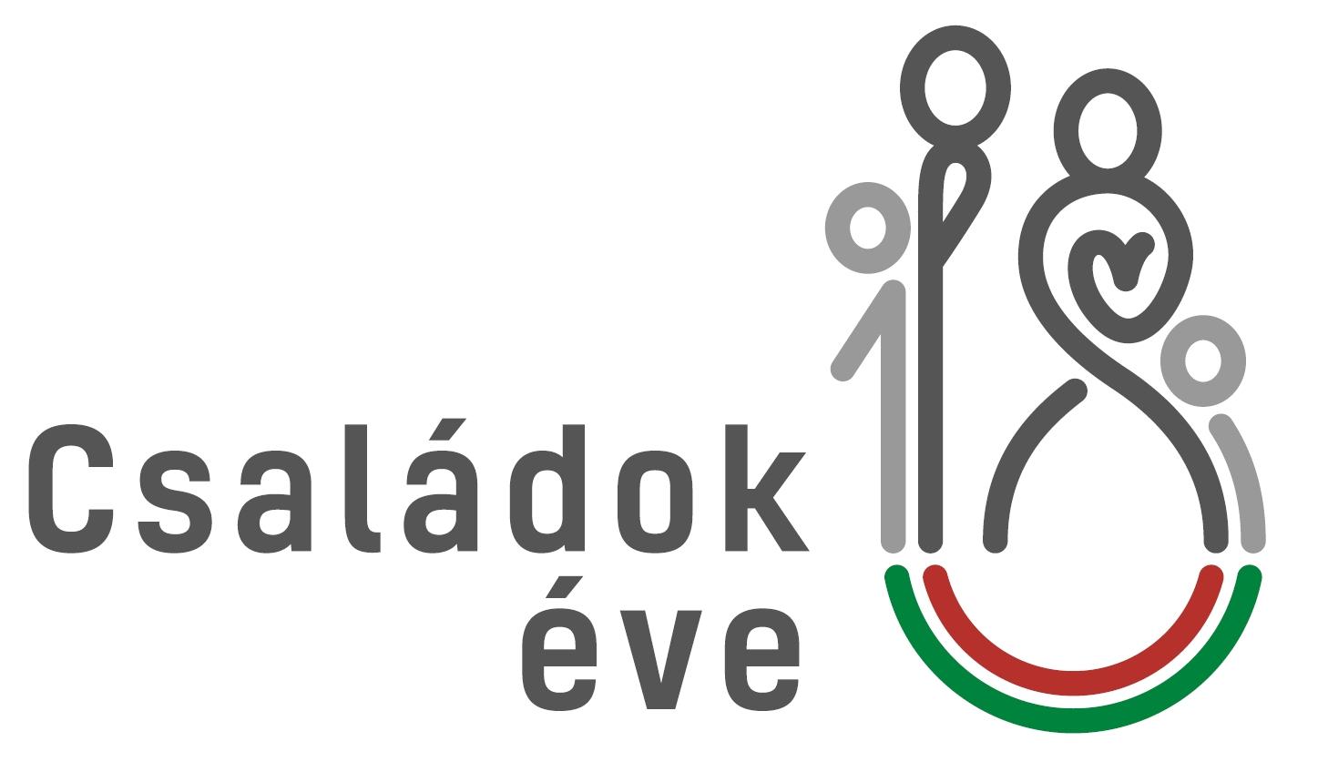 Családok éve 2018 logó