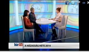 A házasság hete jelentőségéről és programjairól  a HírTv Paletta műsorában