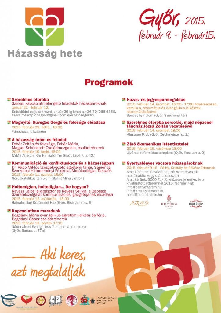 Győri programok 2015