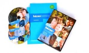 Házaskurzus munkafüzet és DVD csomag