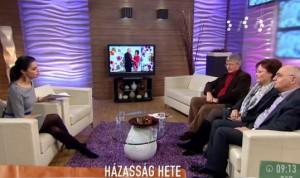 A TV2 Mokka vendége volt Tomka János, Tomkáné Zsáry Anikó és Dr. Herjeczki Kornél