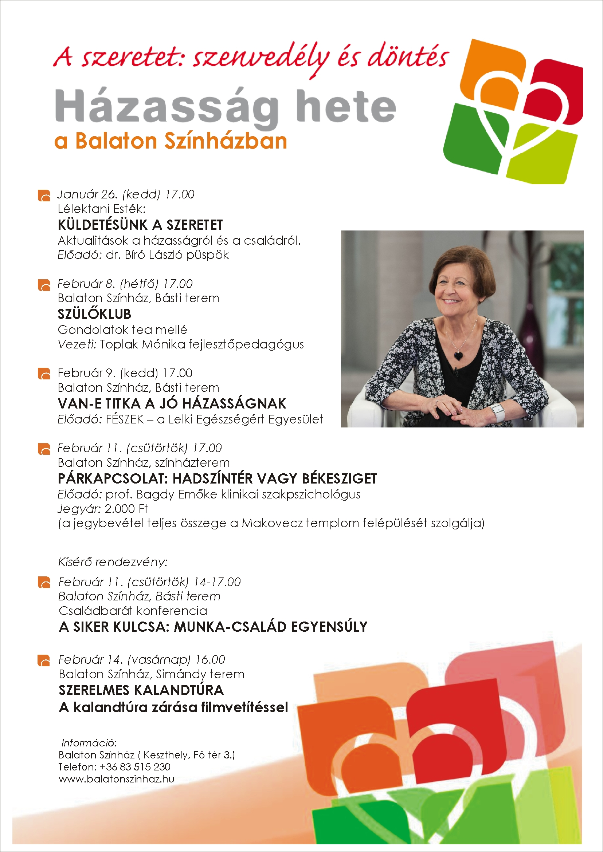 02afad8740 Keszthelyi programok - Házasság hete | Házasság hete