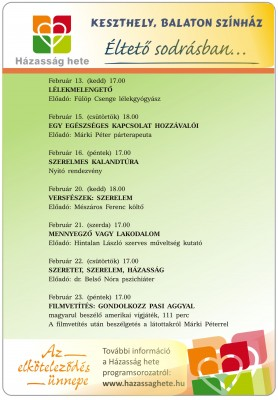 Házasság Hete plakát 2018(1)